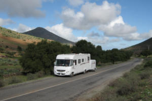 Le courrier en camping car