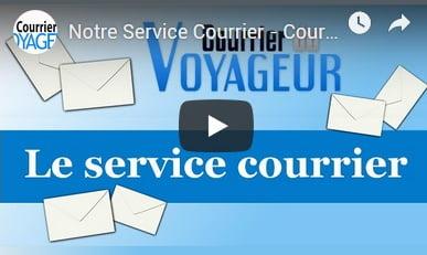 Traitement du courrier avec boite postale en France